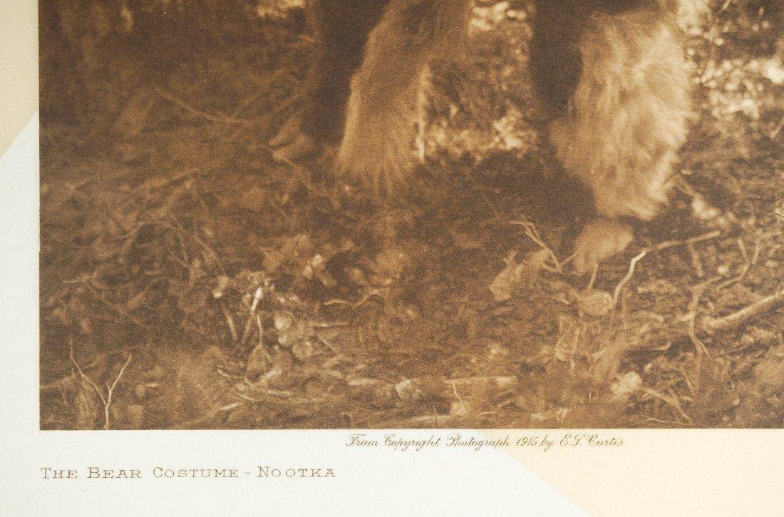 Edward Curtis Tissue Photogravure Nootka, 1915 - 2