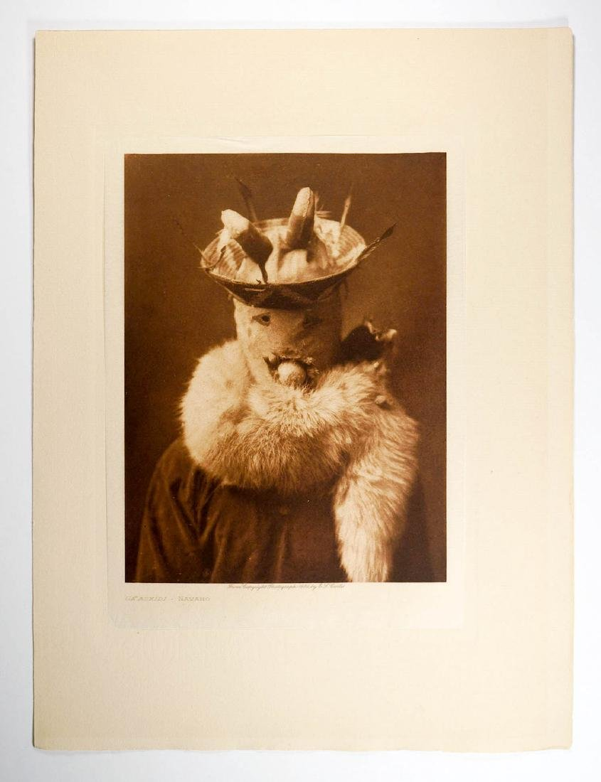 Edward Curtis Tissue Photogravure Navaho