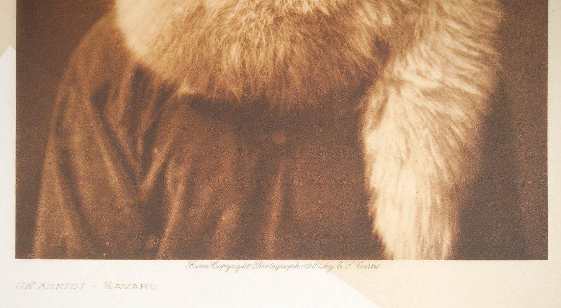 Edward Curtis Tissue Photogravure Navaho - 2