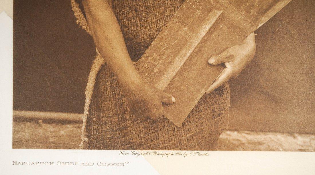 Edward Curtis Tissue Photogravure Nakoaktok, 1914 - 2