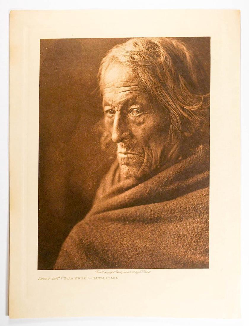 Edward Curtis Photogravure Santa Clara