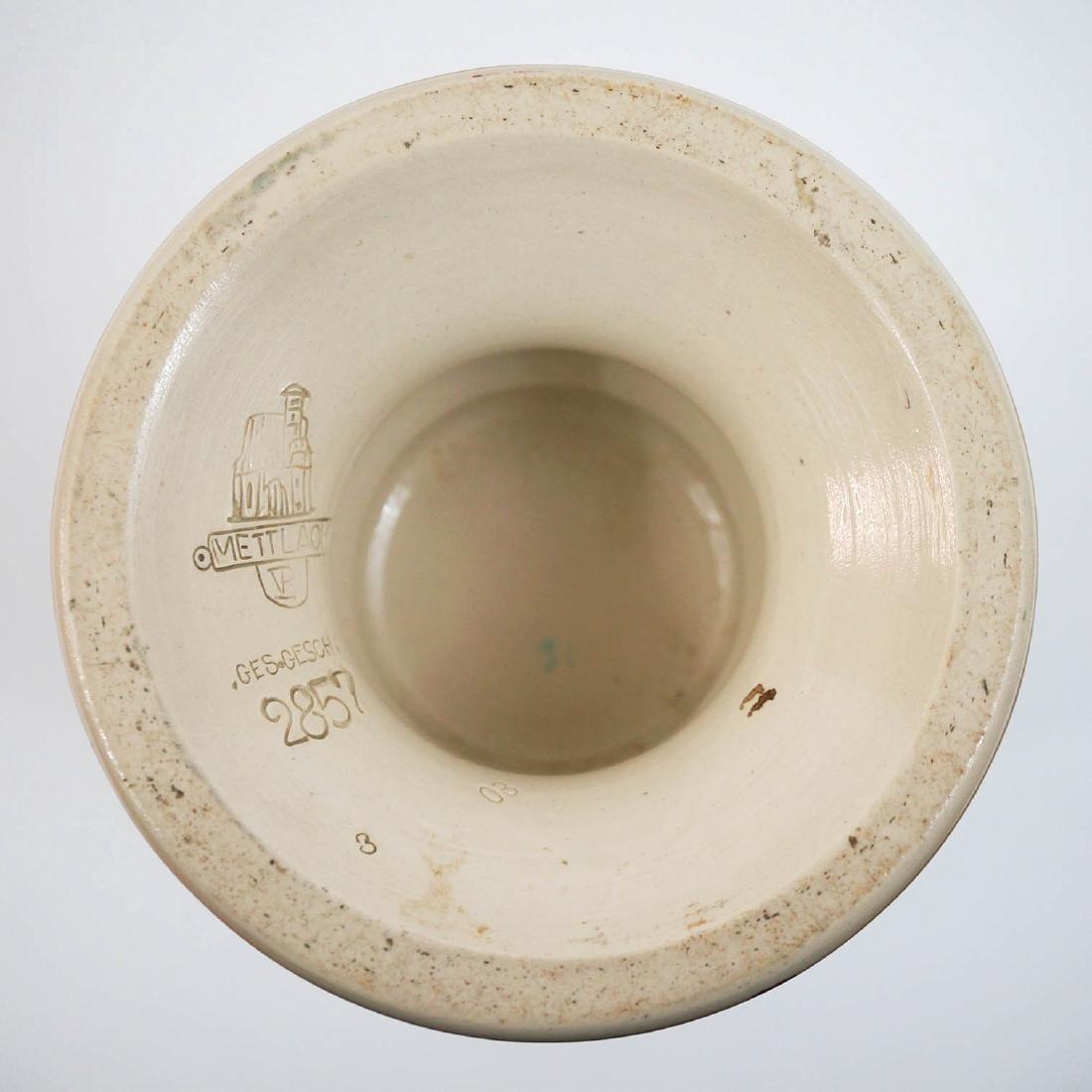 Mettlach Vase No.2857 - 3