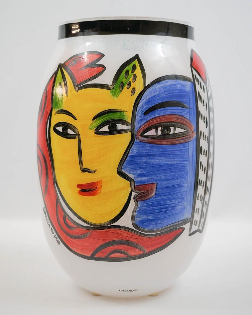 Ulrica Hydman Vallien for Kosta Boda Large Vase