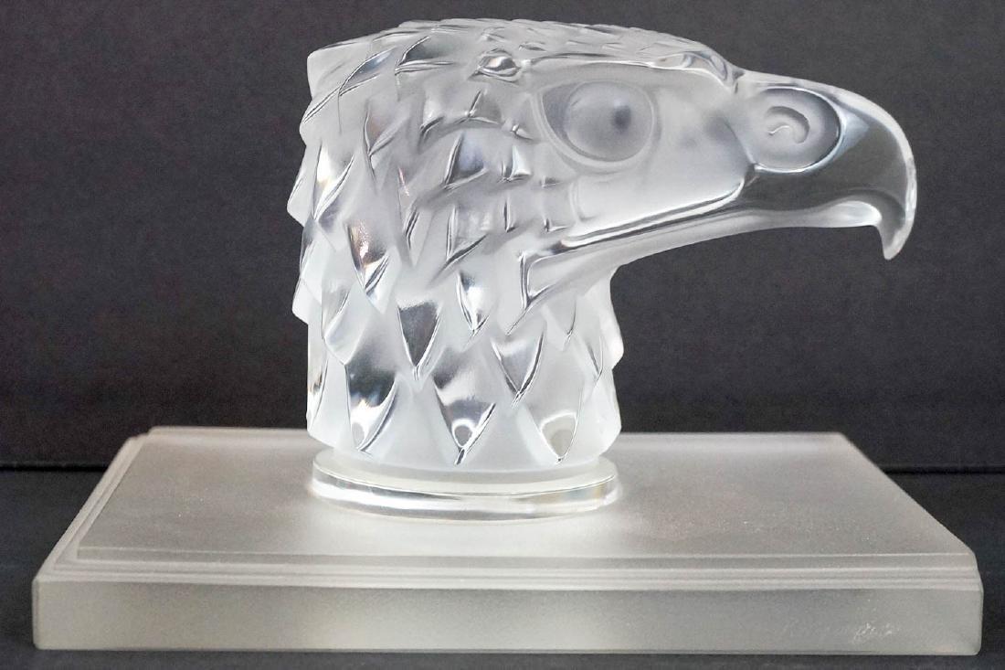 A Lalique Crystal Eagle