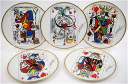 Set Puiforcat Royal Flush Dishes by Salvador Dali
