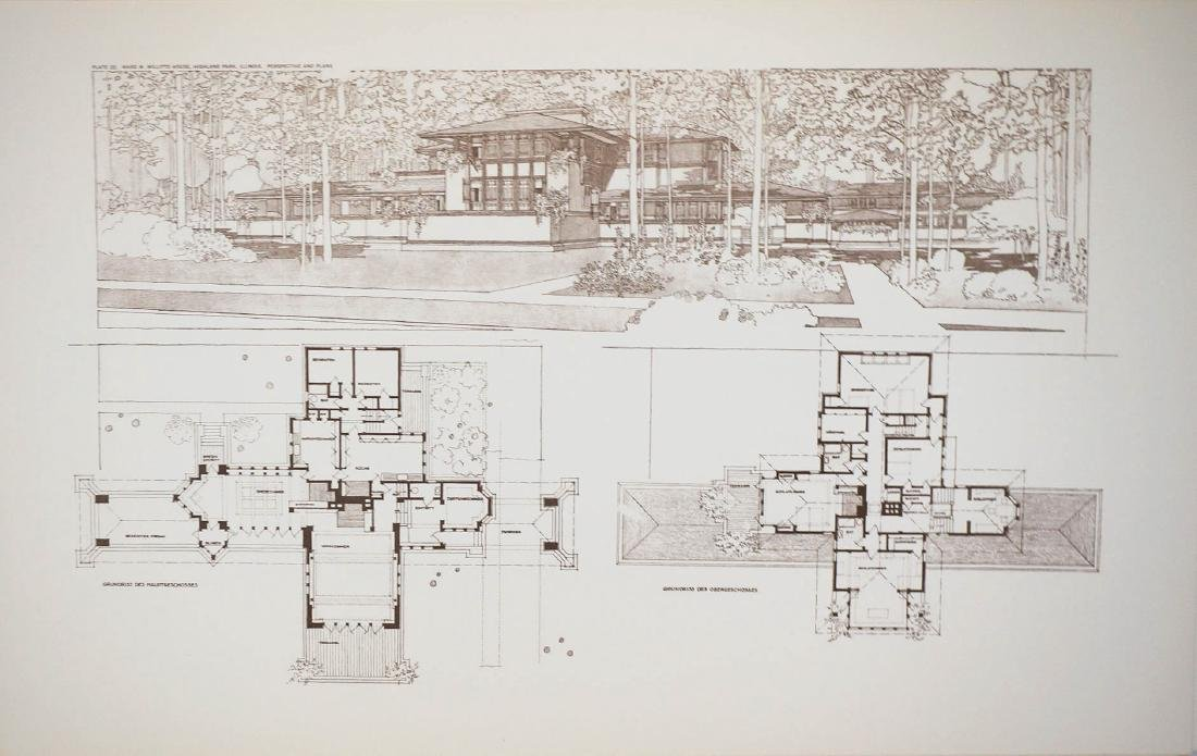 Frank Lloyd Wright Portfolio - 3