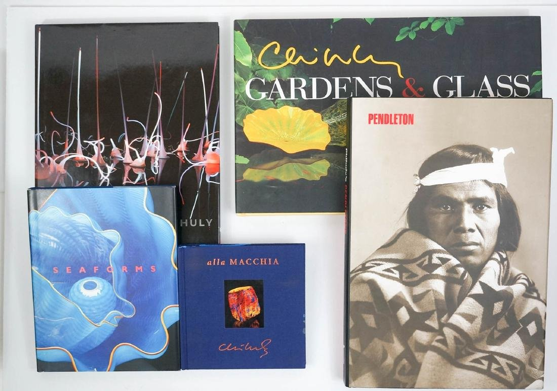 Dale Chihuly (Five Books)