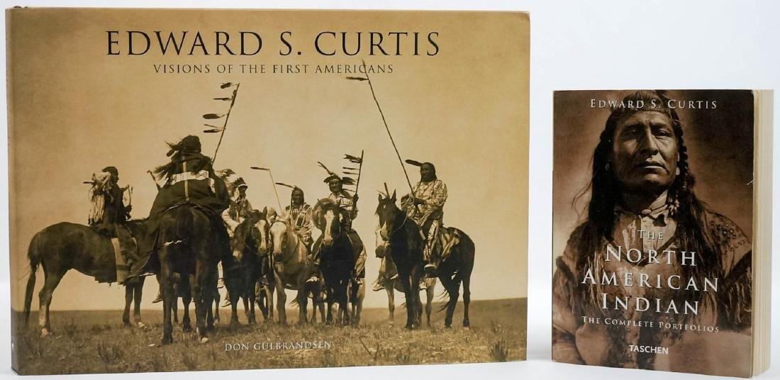 Edward S. Curtis: (Two Books)