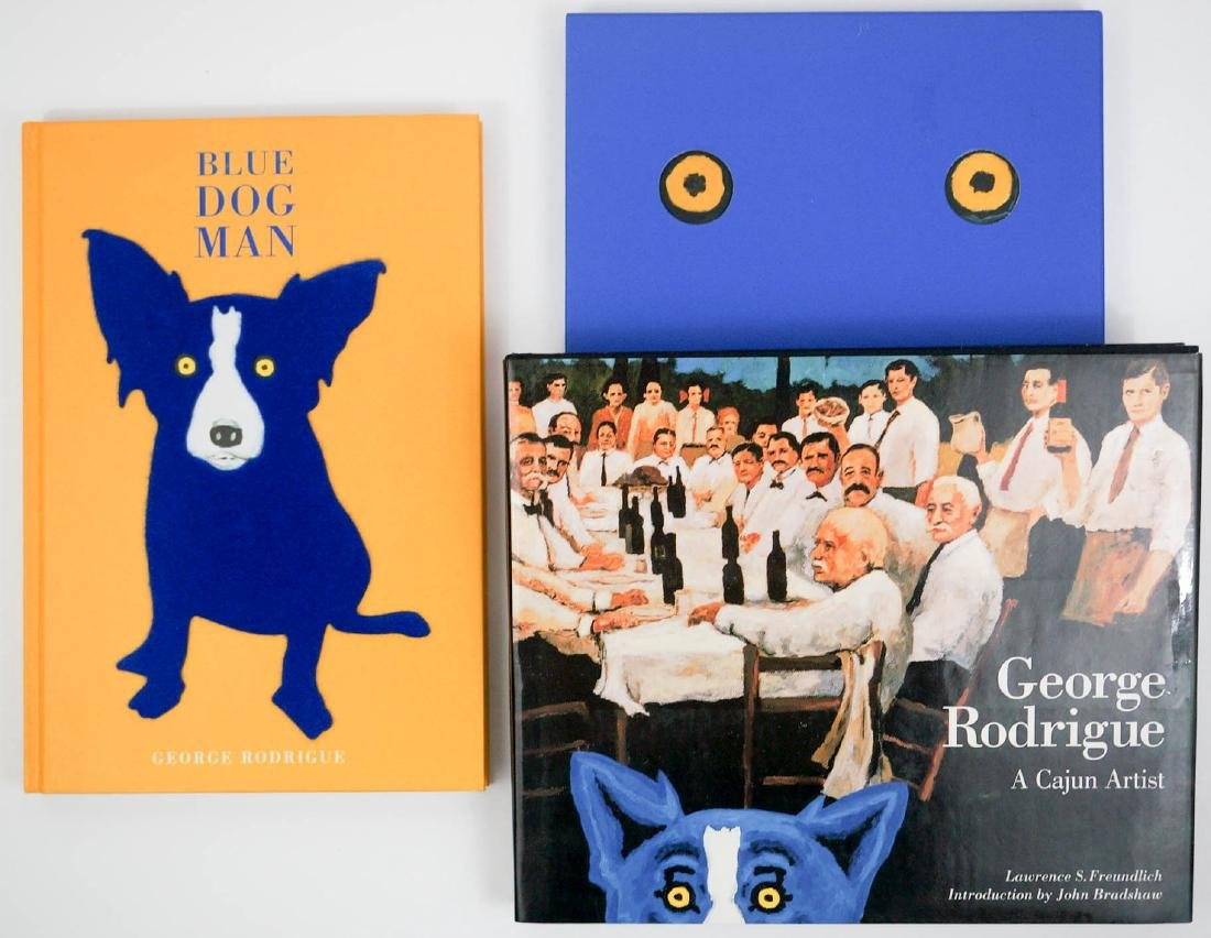 Group of Three Books by George Rodrigue