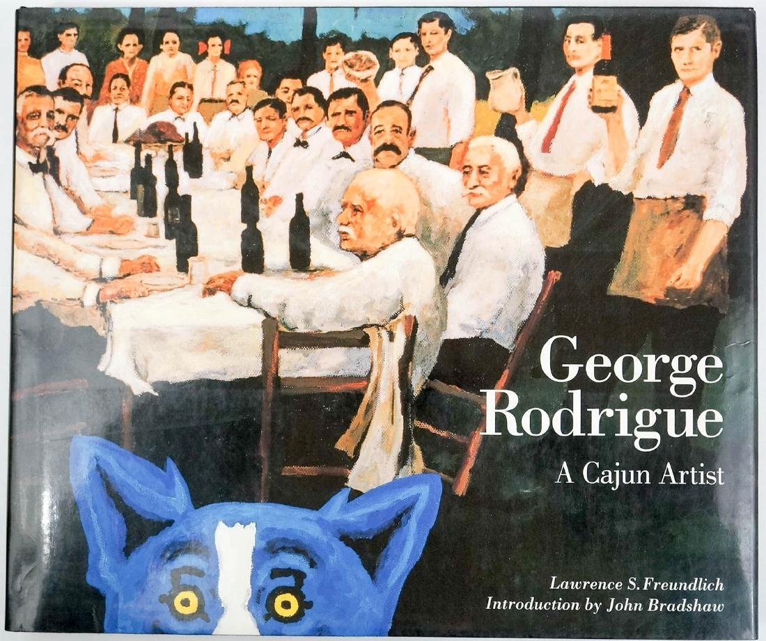 Group of Three Books by George Rodrigue - 3