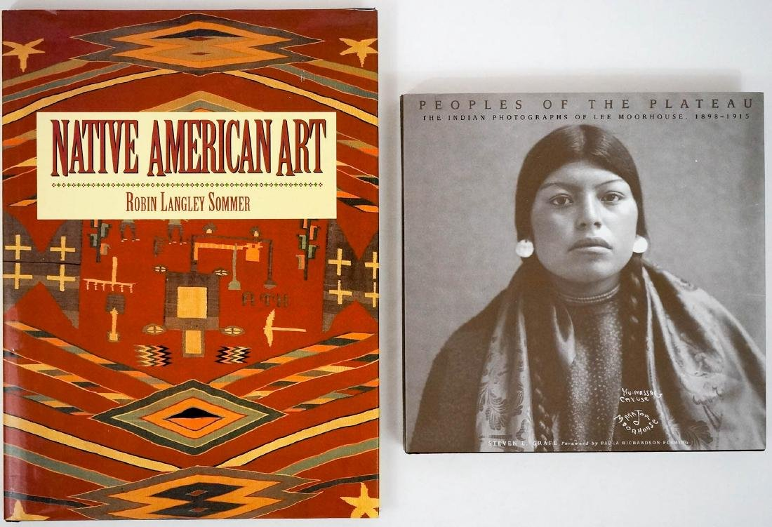 Group of Two Native American Books