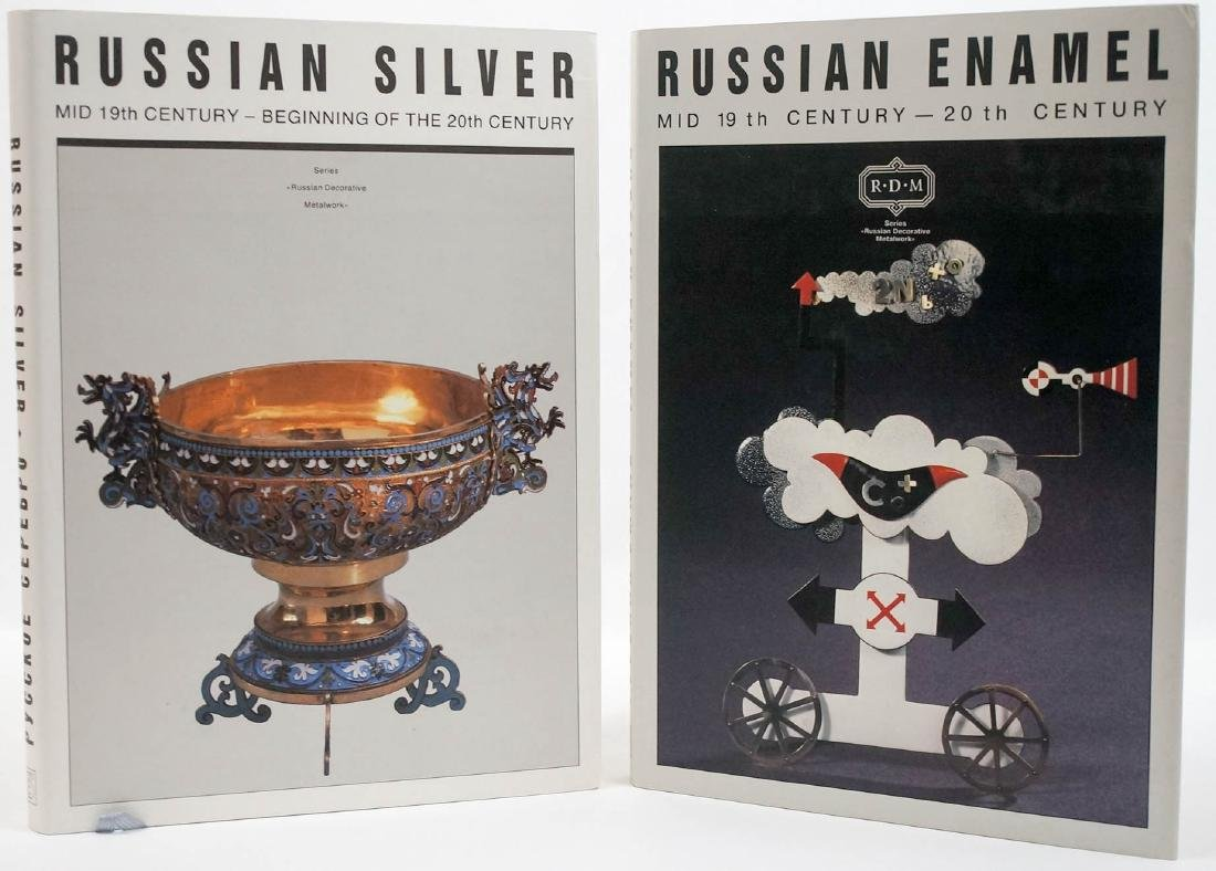 Two Books: Russian Silver and Russian Enamel