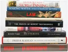 Group of Nine Art Books