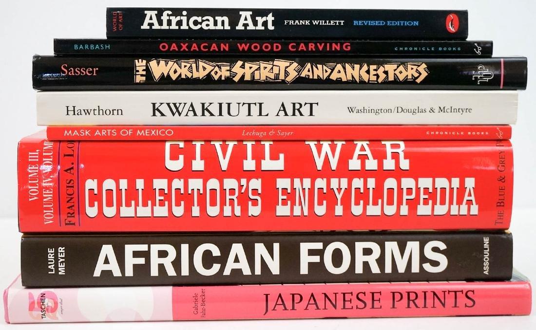 Group of Nine Asian & Ethnic Art Books