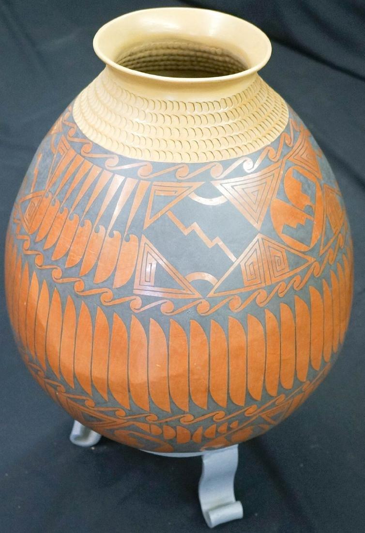 "Coyo Silviera Large Pot 15"" Tall - 2"
