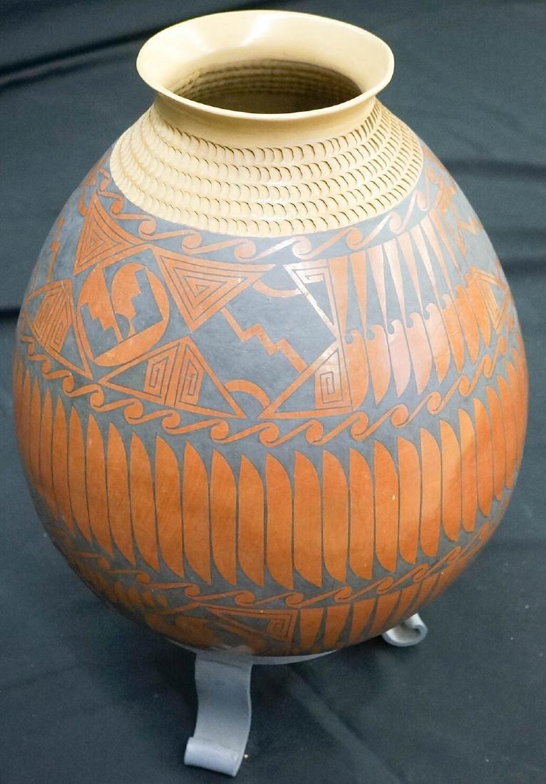 "Coyo Silviera Large Pot 15"" Tall - 3"