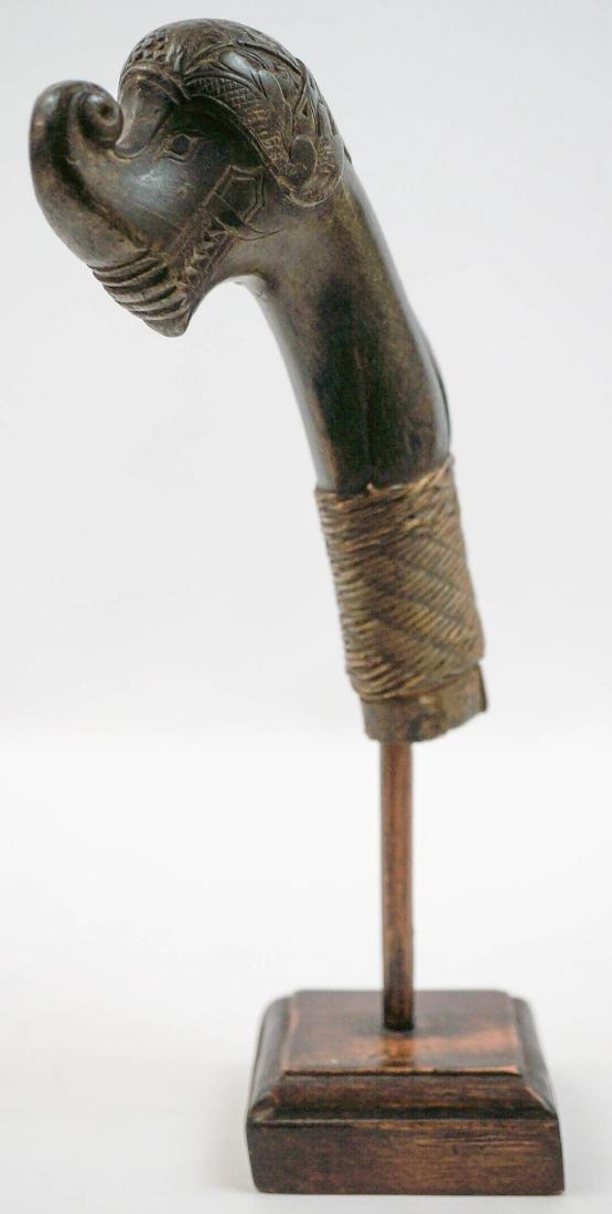 Old Indonesian Keris or Kriss Sword Handle - 2