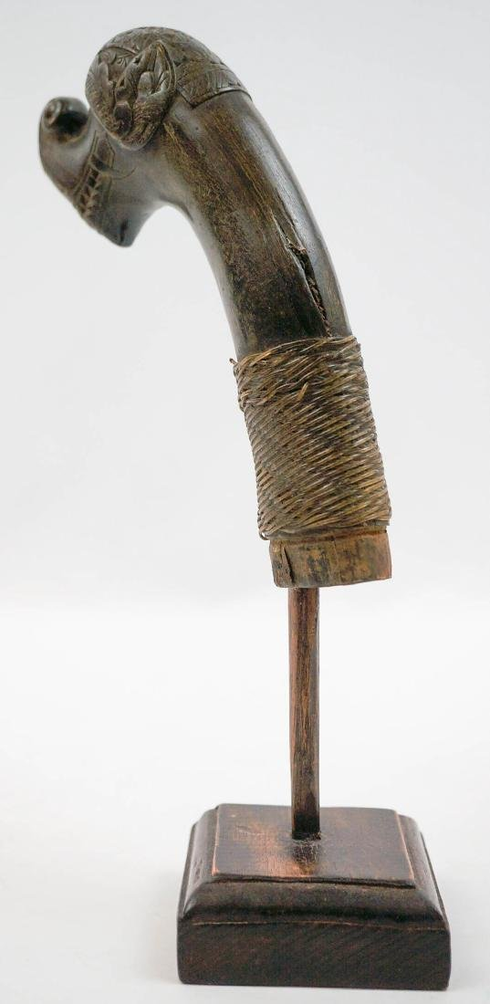 Old Indonesian Keris or Kriss Sword Handle - 3