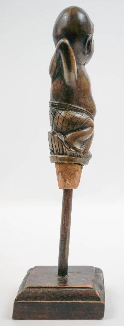 Old Indonesian Keris or Kriss Sword Handle - 4