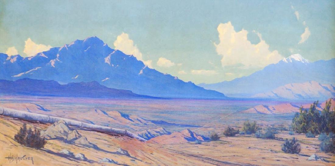 Harry Wagoner (1889-1950) Framed Oil Painting