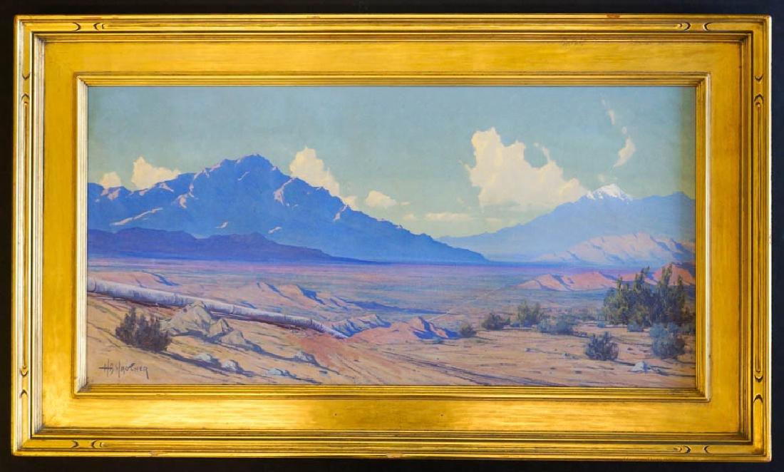 Harry Wagoner (1889-1950) Framed Oil Painting - 2