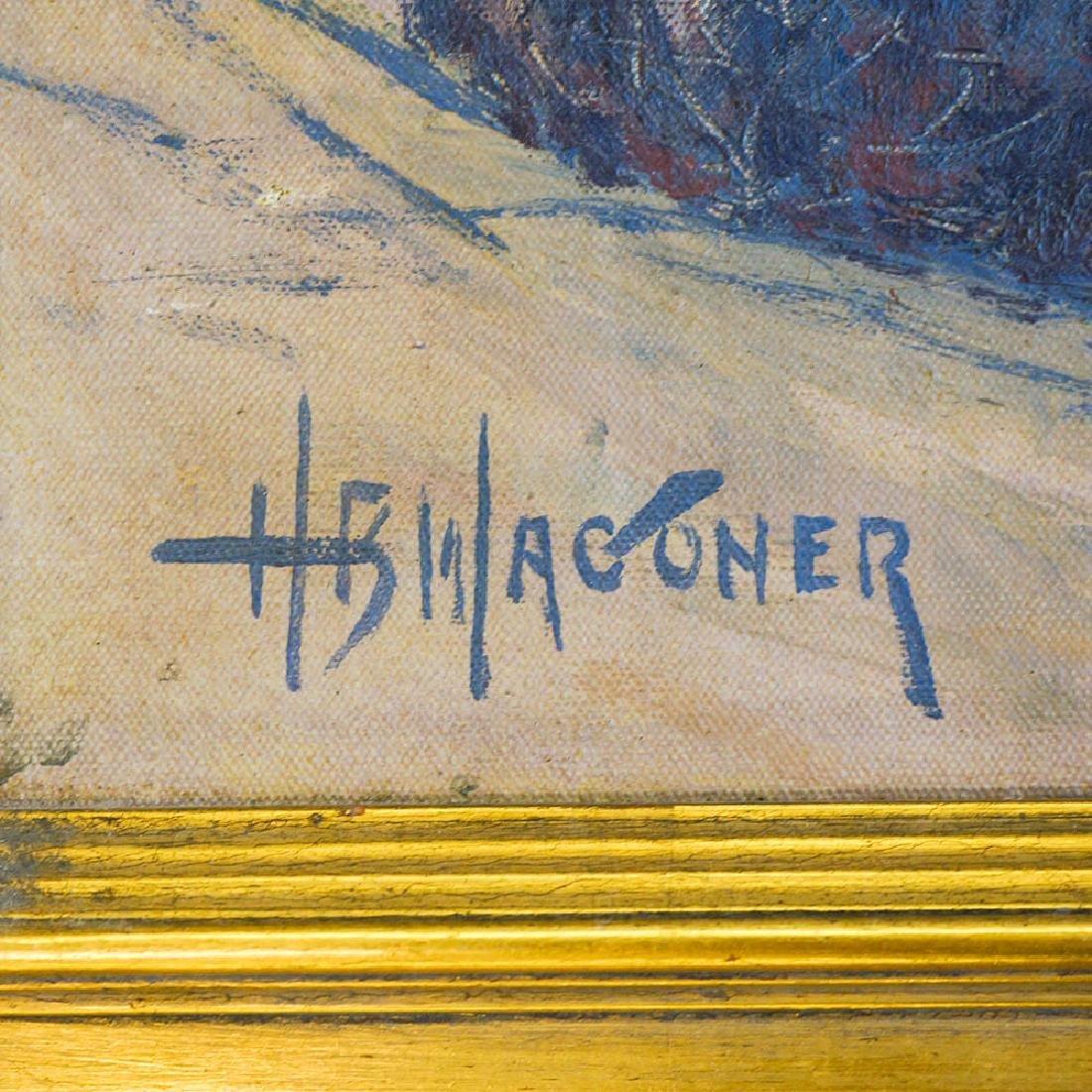 Harry Wagoner (1889-1950) Framed Oil Painting - 3