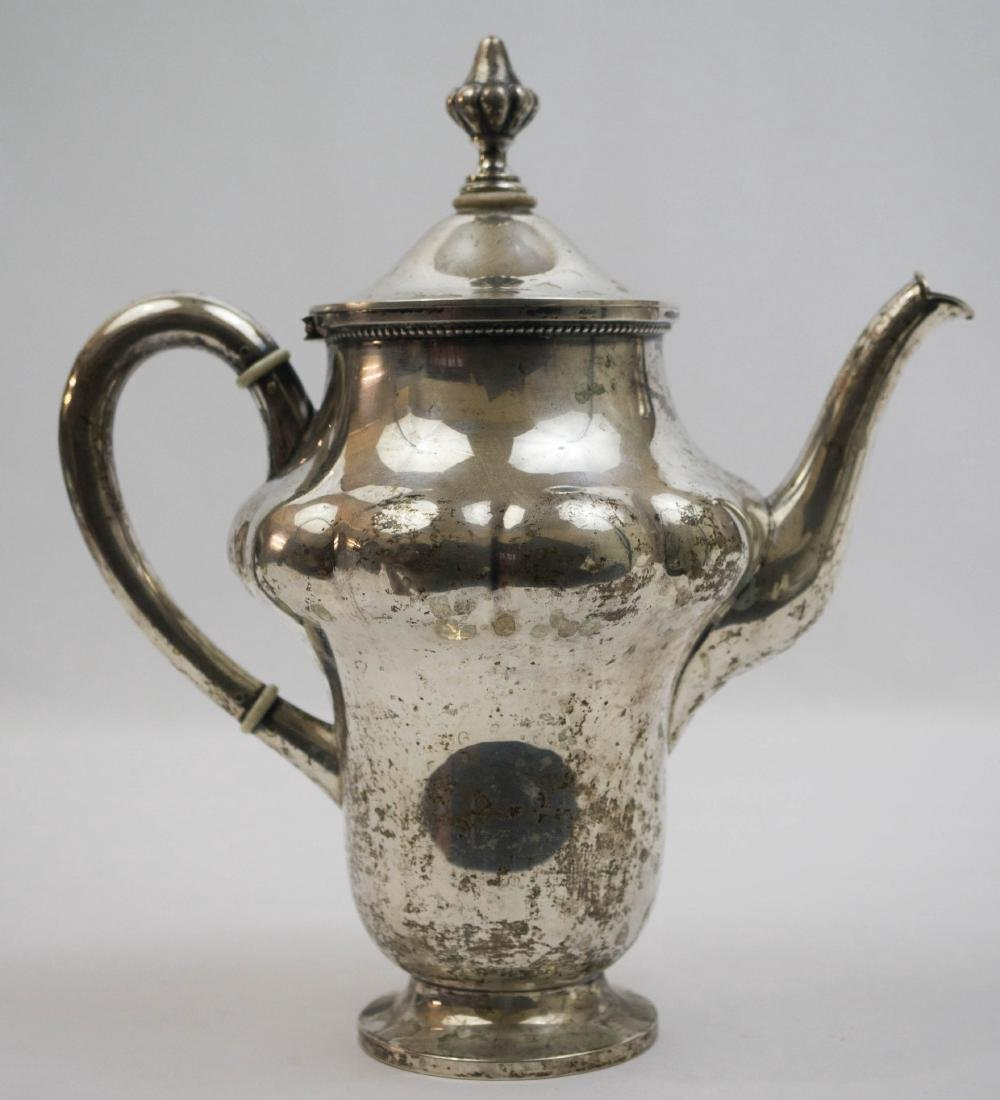 German .800 Silver Coffee Pot