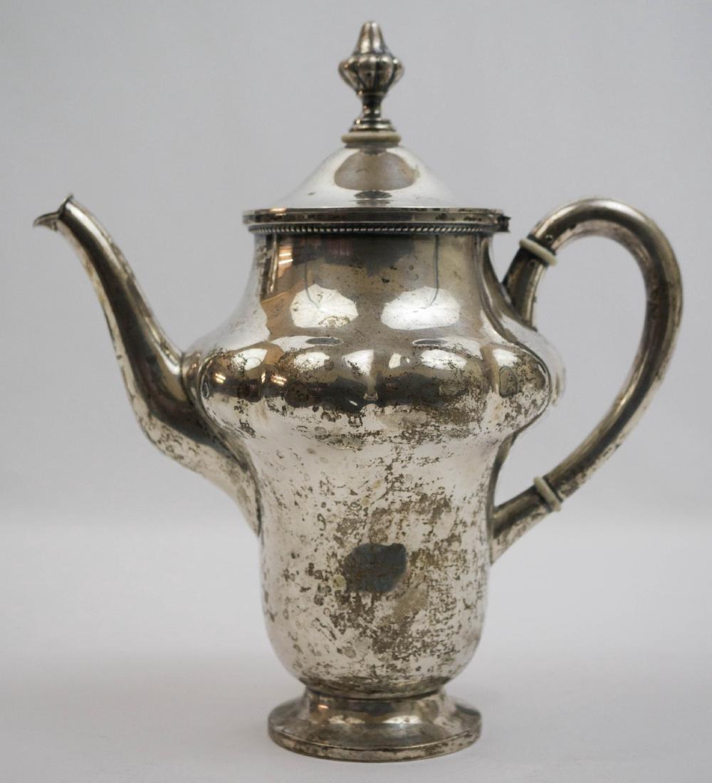 German .800 Silver Coffee Pot - 2