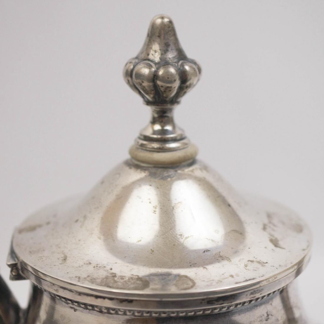 German .800 Silver Coffee Pot - 5