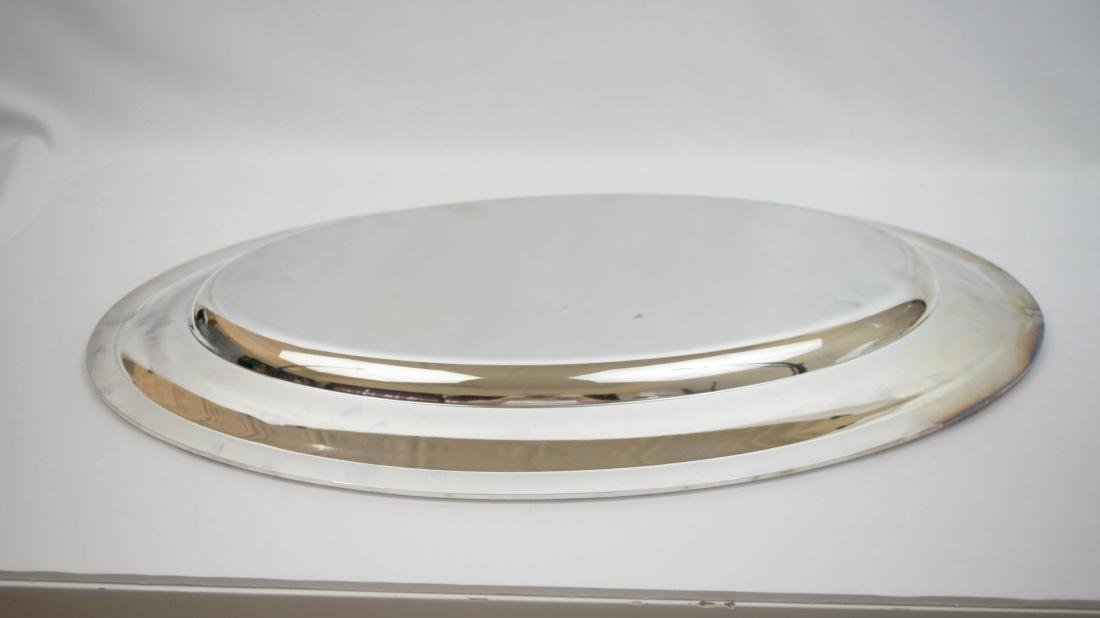 Christofle Large Silver Plate Oval Serving Tray - 2