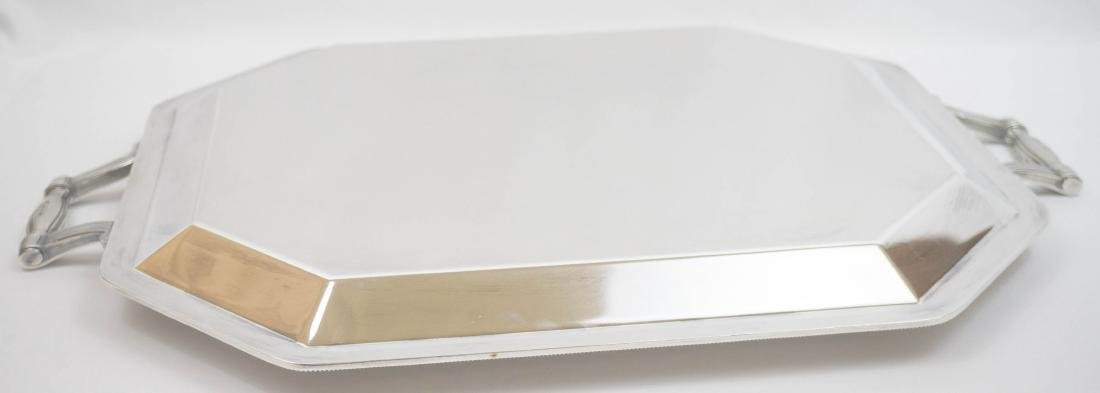 Christofle France Large Silver Plate Serving Tray - 2