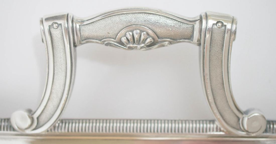 Christofle France Large Silver Plate Serving Tray - 4