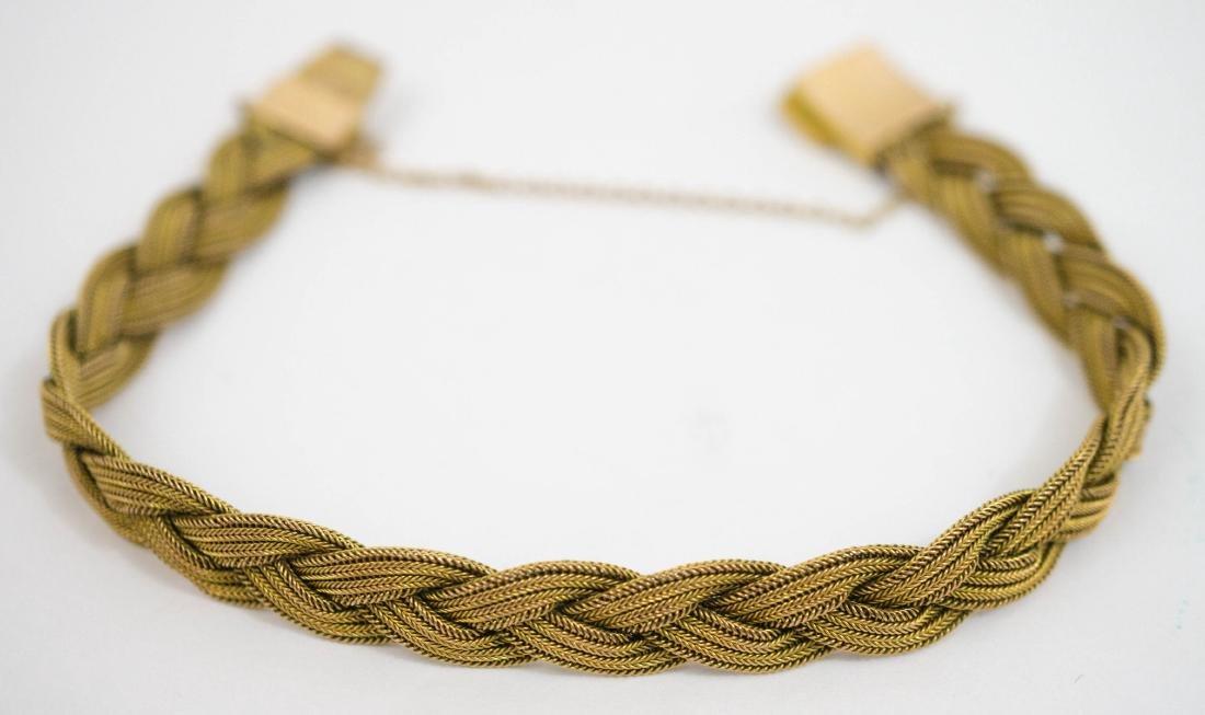10k Gold Mesh Bracelet - 2