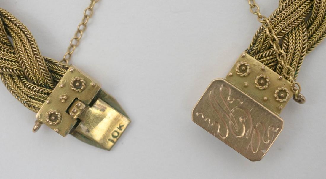 10k Gold Mesh Bracelet - 3