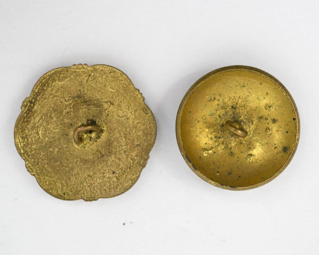 Two Cloisonne Button Sets, Ring - 4