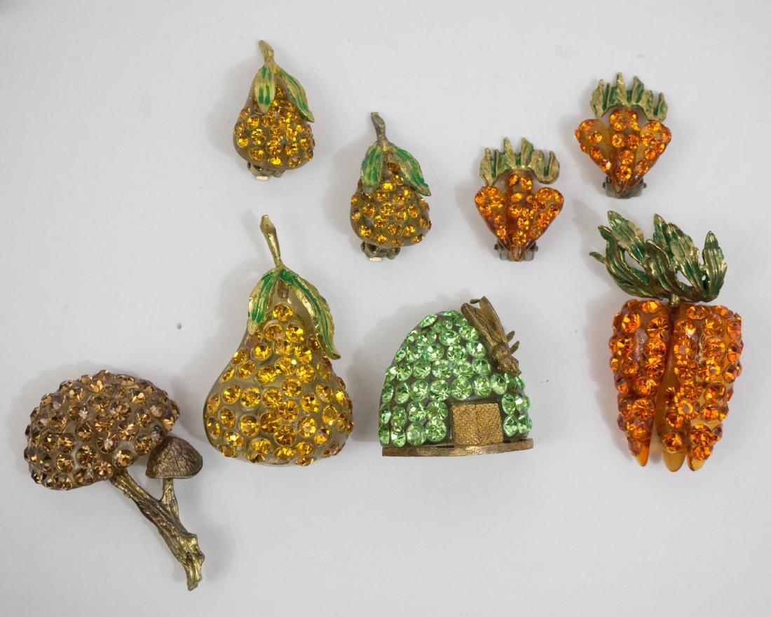Vintage Forbidden Fruit Costume Jewelry