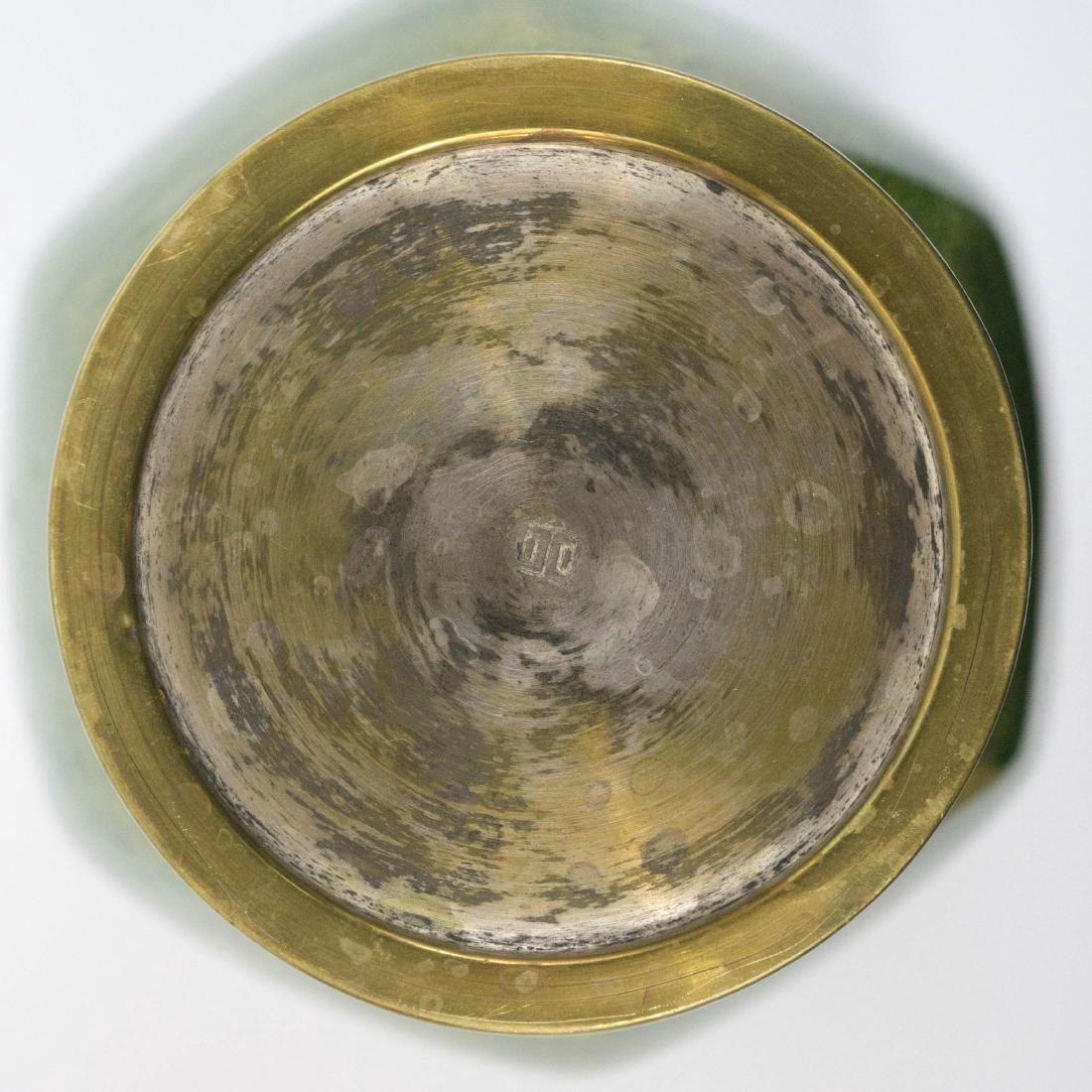Old Japanese Cloisonne Ginbari Vase - 4