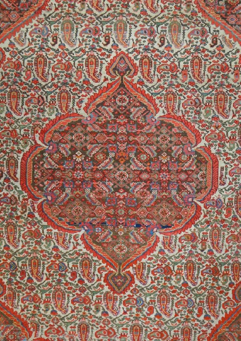 Early 1900's Senneh Oriental Rug