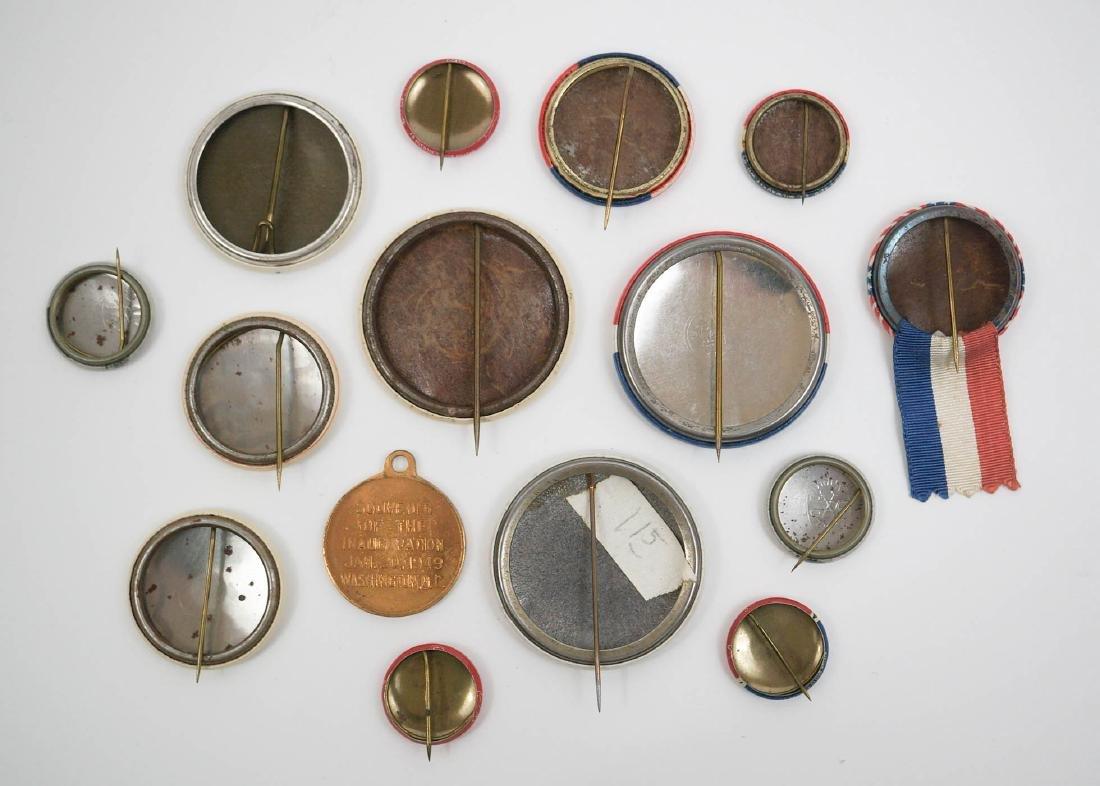 Harry S. Truman Group of Fifteen Pinback Buttons - 2