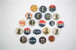 Woodrow Wilson Group Twenty-One Campaign Items