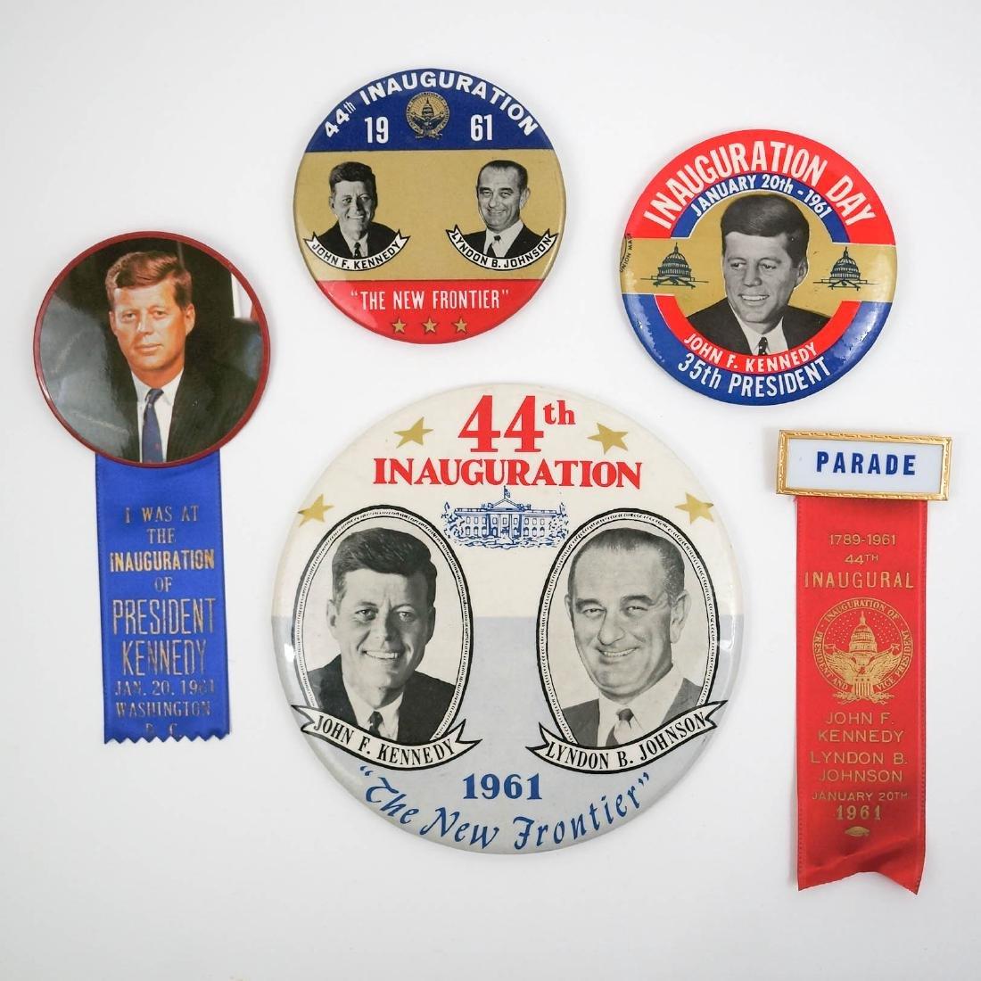 John F. Kennedy Inauguration Items