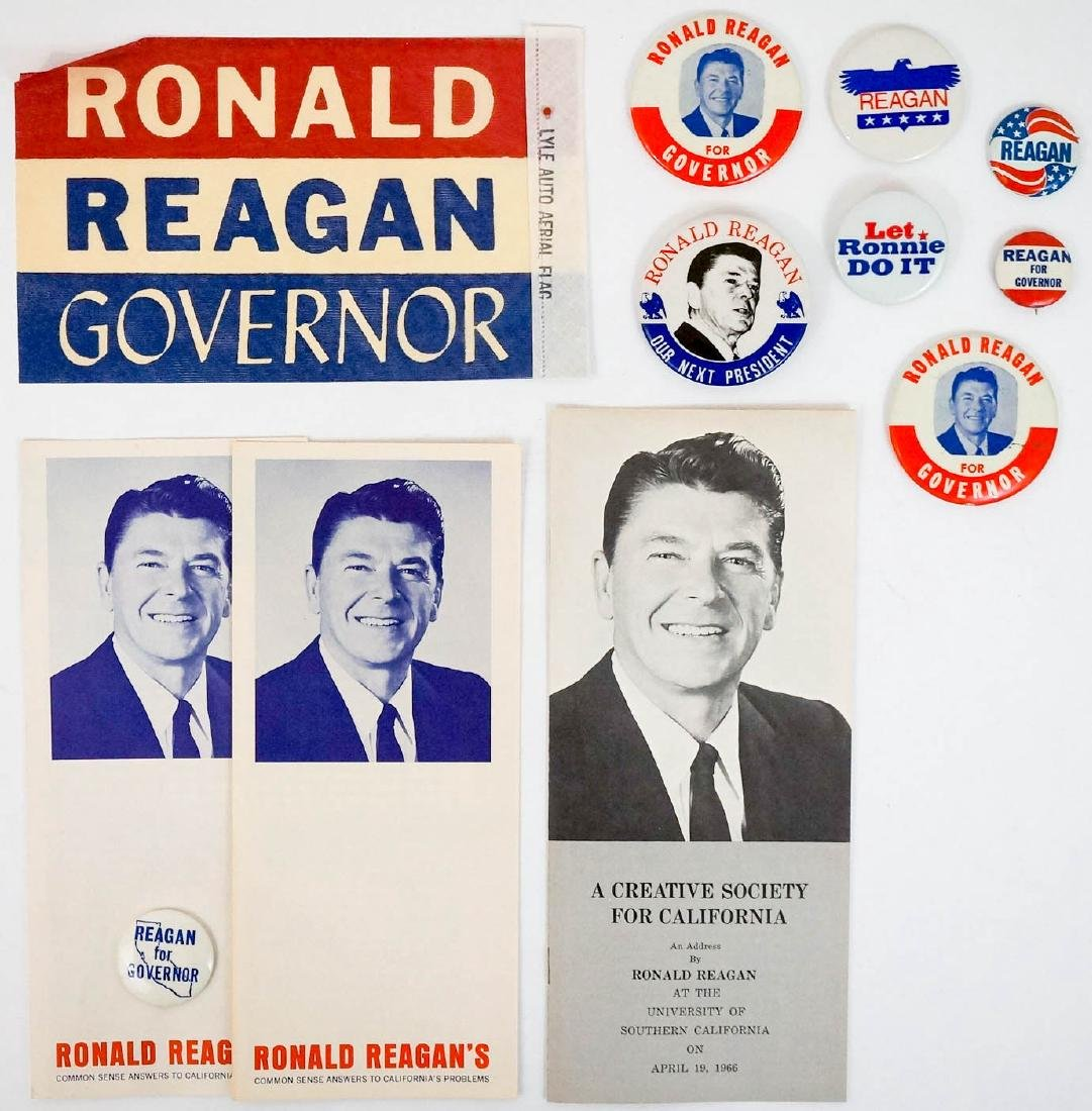 Ronald Reagan Group Campaign Items
