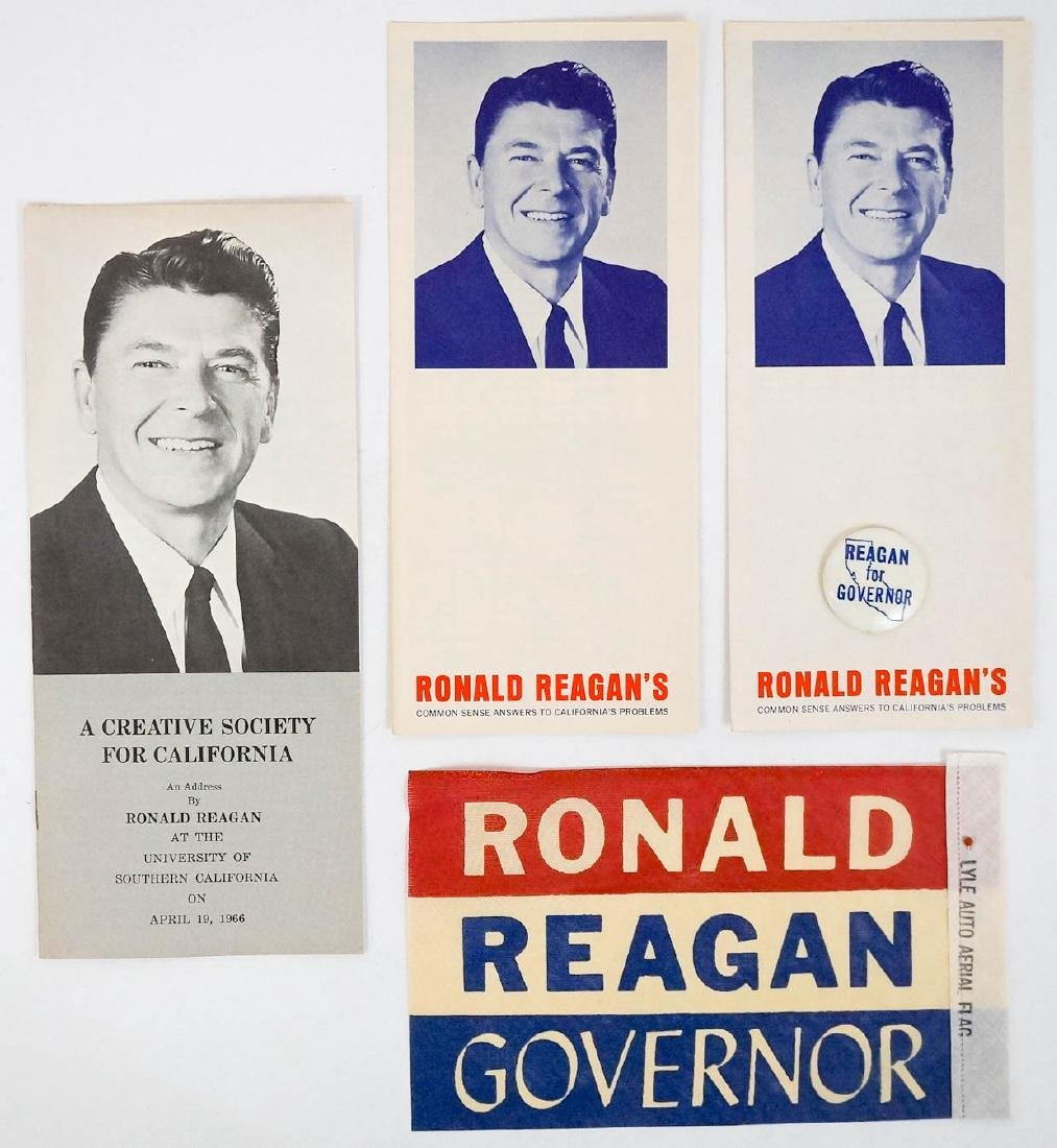 Ronald Reagan Group Campaign Items - 3