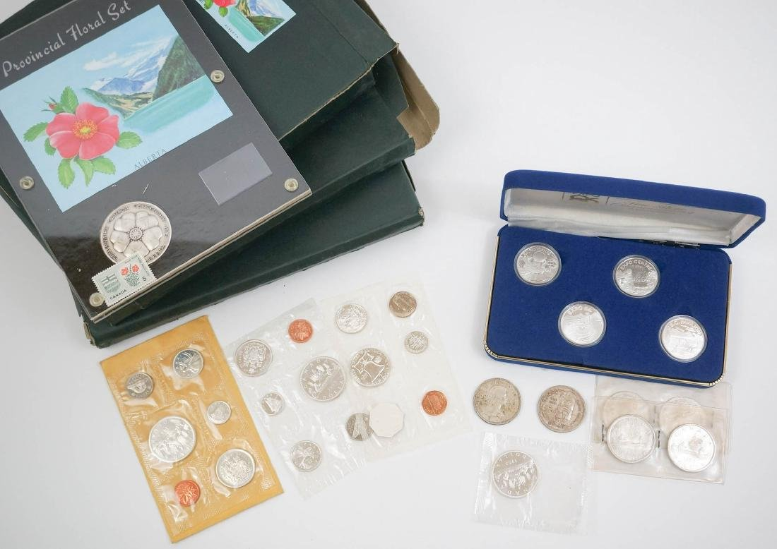 Group Silver Canadian Dollars and Commemoratives - 2