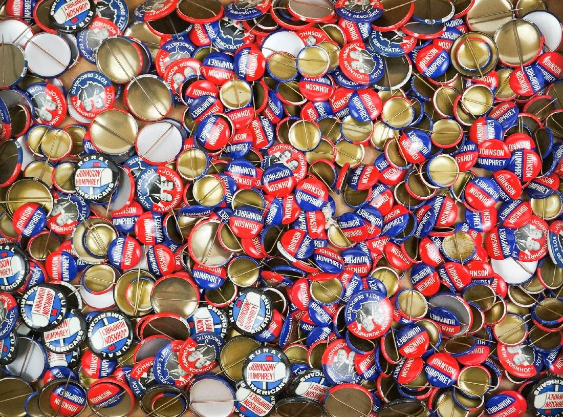 Johnson-Humphrey Large Group Pinback Buttons