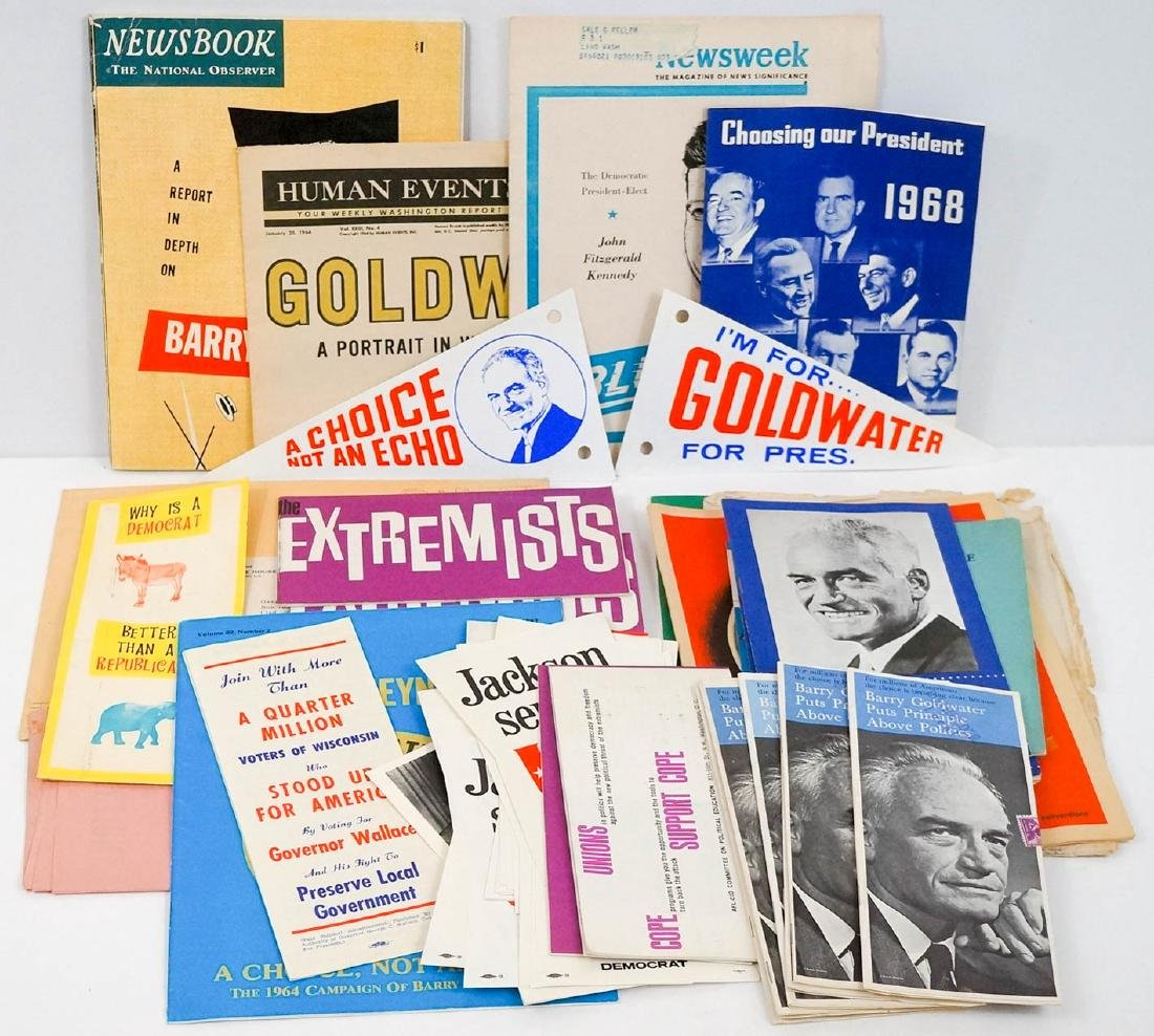 Group Vintage Presidential Campaign Collectibles