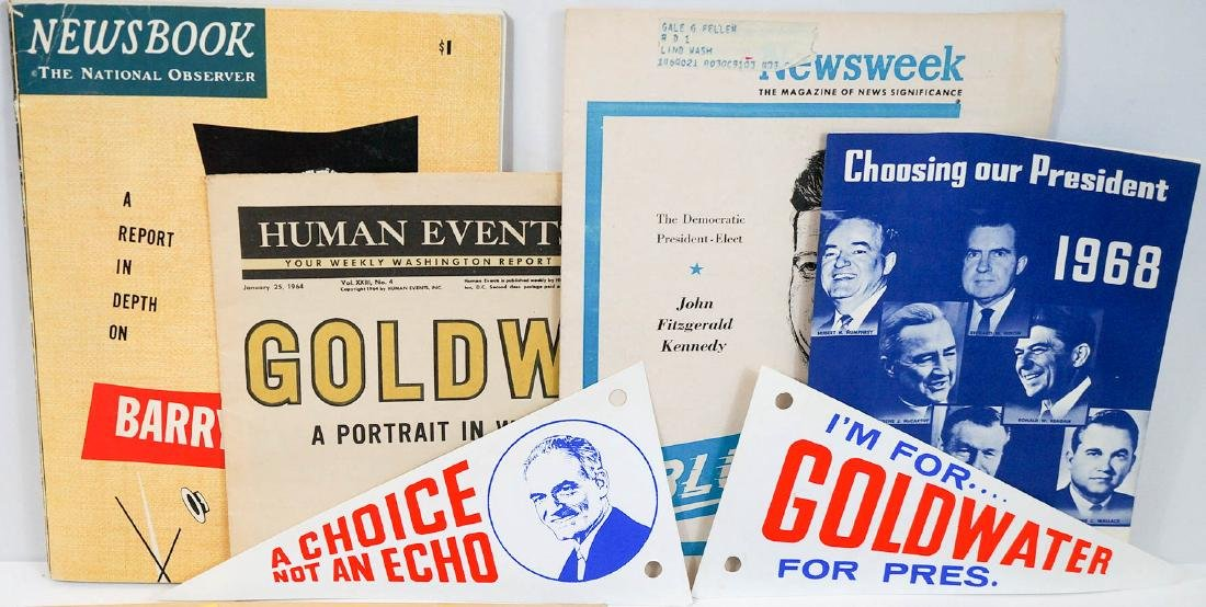Group Vintage Presidential Campaign Collectibles - 2