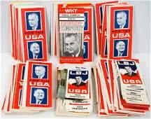 Lyndon B. Johnson Large Group NOS Brochures