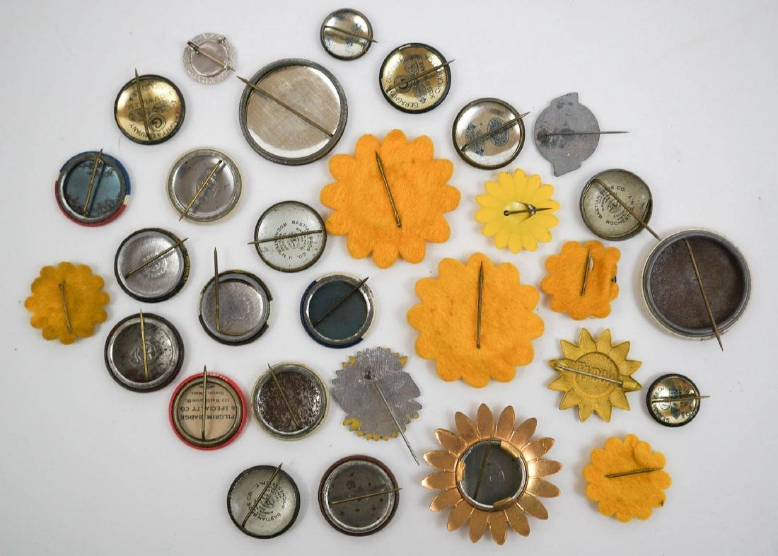Landon Knox 1936 Pinback Buttons - 2