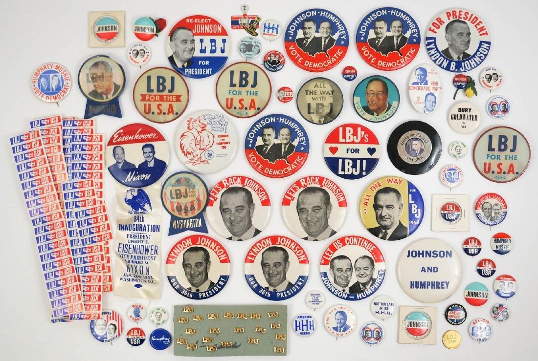 Lyndon B. Johnson Campaign Items